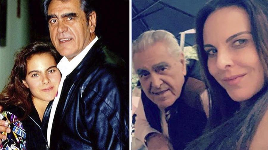 Kate y su papá Eric del Castillo