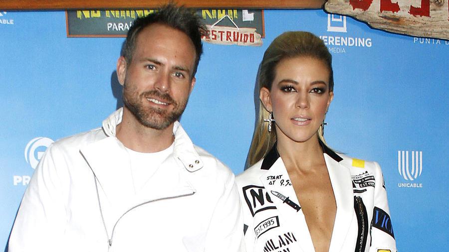 Erik Hayser y Fernanda Castillo