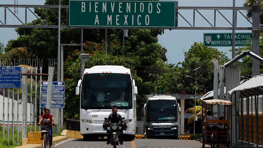 Autobús en México en una imagen de archivo