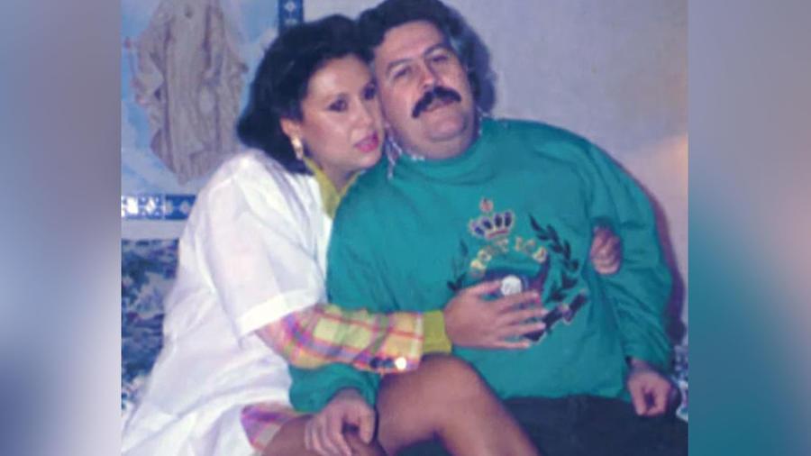 Pablo Escobar y María Isabel Santos