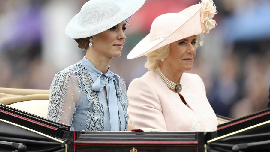 Kate Middleton y Camilla Parker