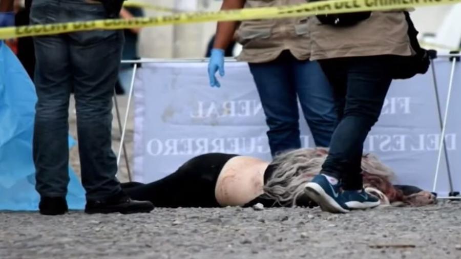Bruja Ma Memije torturada y acribillada a balazos en Guerrero, México