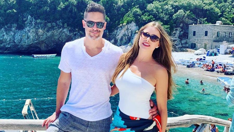 Joe Manganiello y Sofía Vergara en la costa Amalfitana en Italia en sus vacaciones de julio de 2019