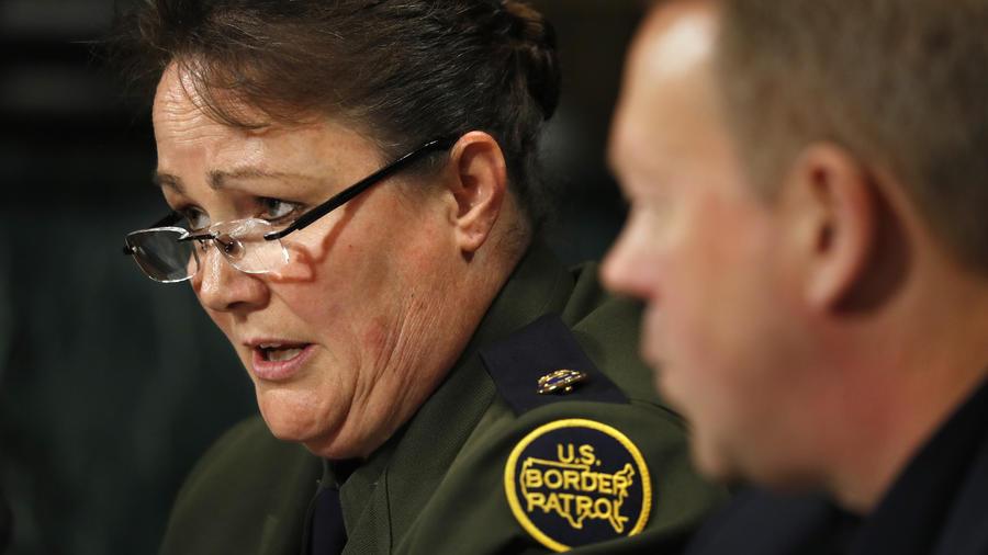 Imagen de archivo de Carla Provost, jefa de la Patrulla Fronteriza, en una audiencia en el Congreso.