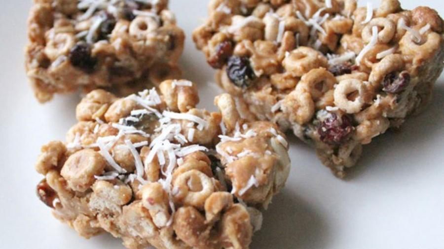 Barras de Honey Nut Cheerios
