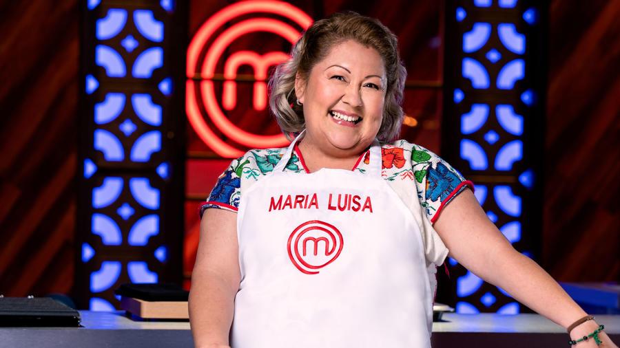 María Luisa Balbuena participante de MasterChef Latino 2