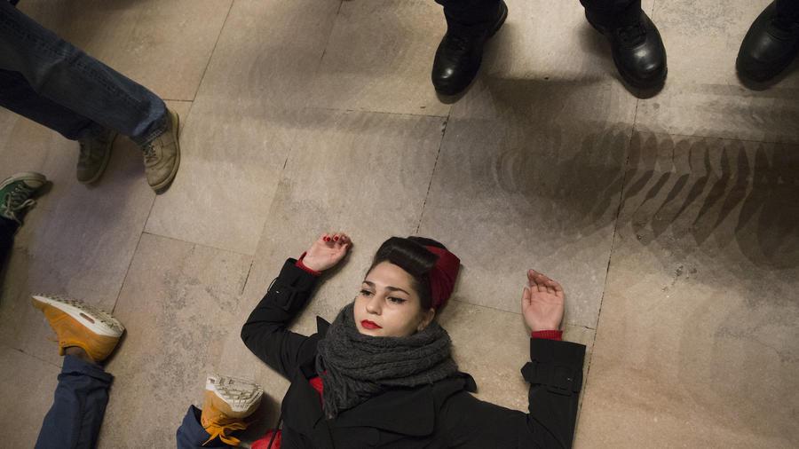 Imagen de archivo de una protesta en  Nueva York por la muerte de Eric Garner.