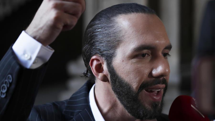 Imagen de archivo del presidente de El Salvador, Nayib Bukele.