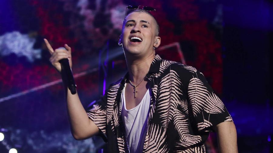 Bad Bunny en Premios Billboard de la Musica Latina - Season 2017