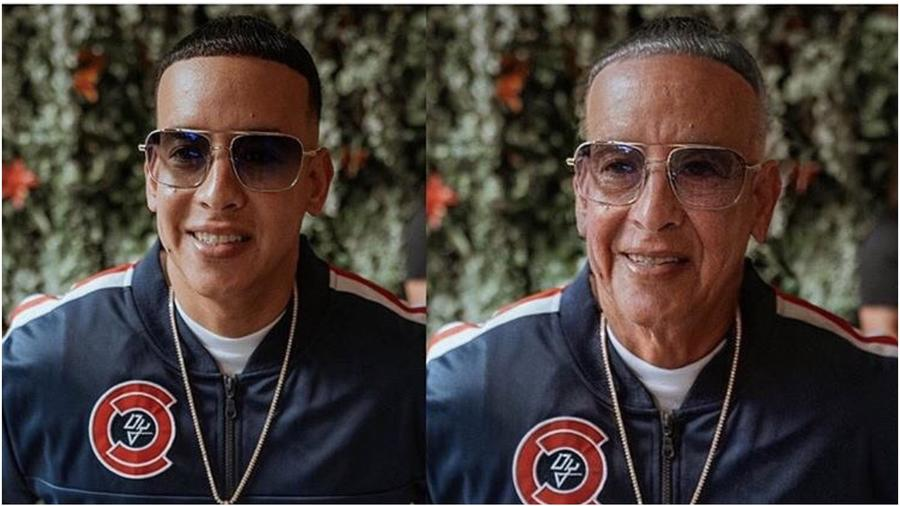 Daddy Yankee con FaceApp