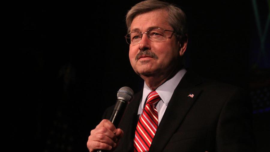 Terry Branstad, exgobernador de Iowa, en una foto de archivo.