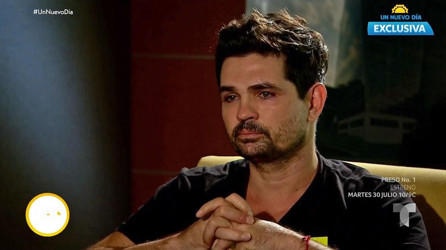 Ferdinando Valencia llora por su hijo