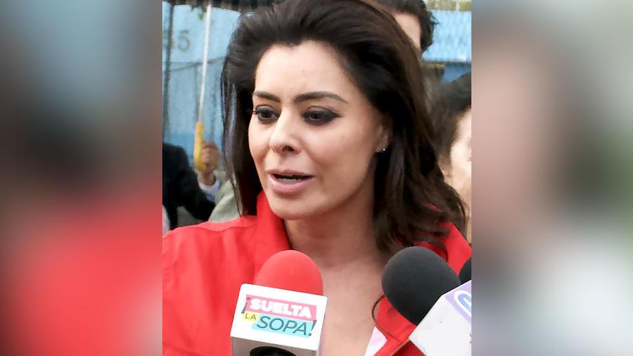 Yadhira Carrillo en el reclusorio