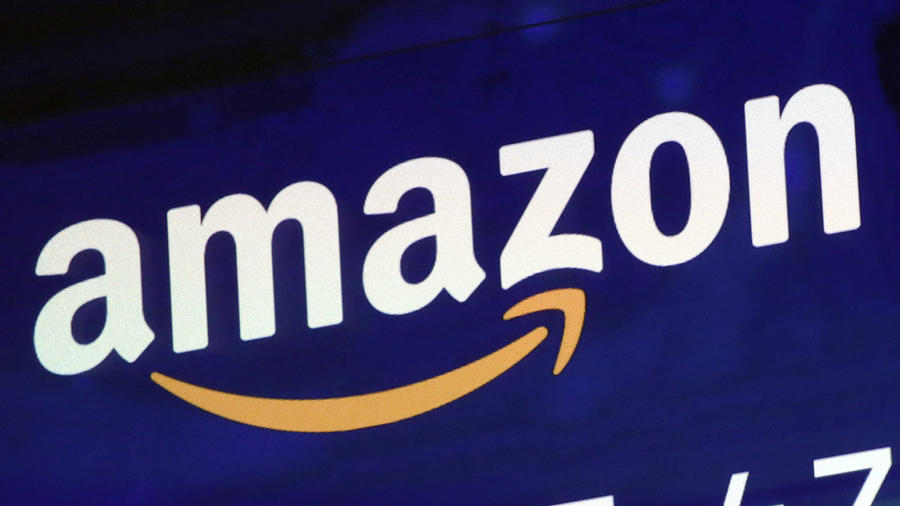 Imagen del logo de Amazon.