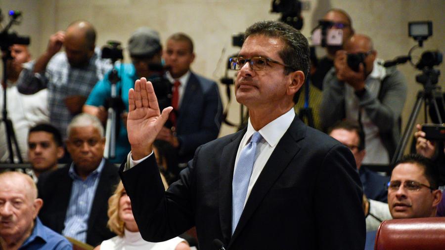 Pedro Pierluisi juramenta como secretario de Estado ante el Congreso de Puerto Rico en la mañana del 2 de agosto de 2019