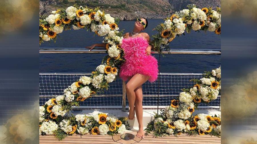 Kylie Jenner celebró sus 22 años con una fiesta espectacular