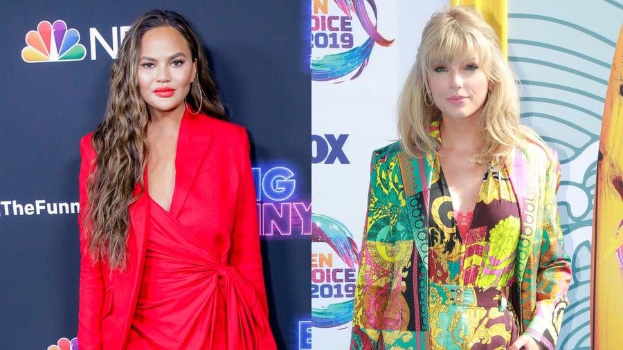 Chrissy Teigan defends Taylor Swift on Twitter
