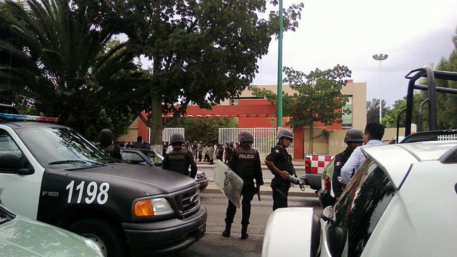 Policía de Oaxaca.