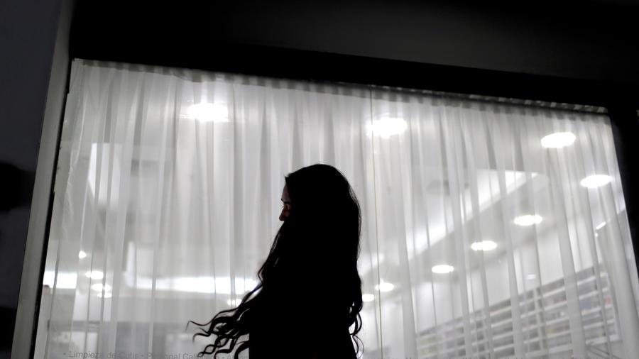 Imagen de archivo de una mujer.