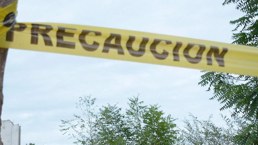 Imagen de una cinta amarilla de precaución.