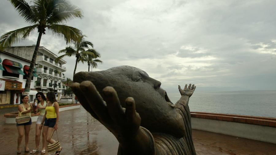 Fotografía de archivo de Puerto Vallarta, en la costa del Pacífico, en el estado de Jalisco