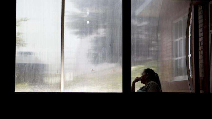 Imagen de archivo de una mujer en México.