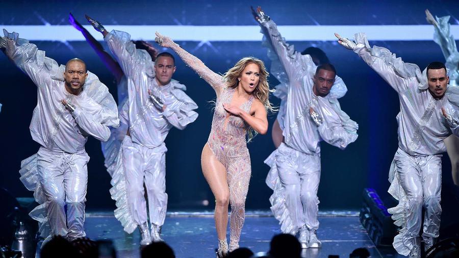 """Jennifer Lopez durante el """"It's My Party Tour 2019"""" en New York"""