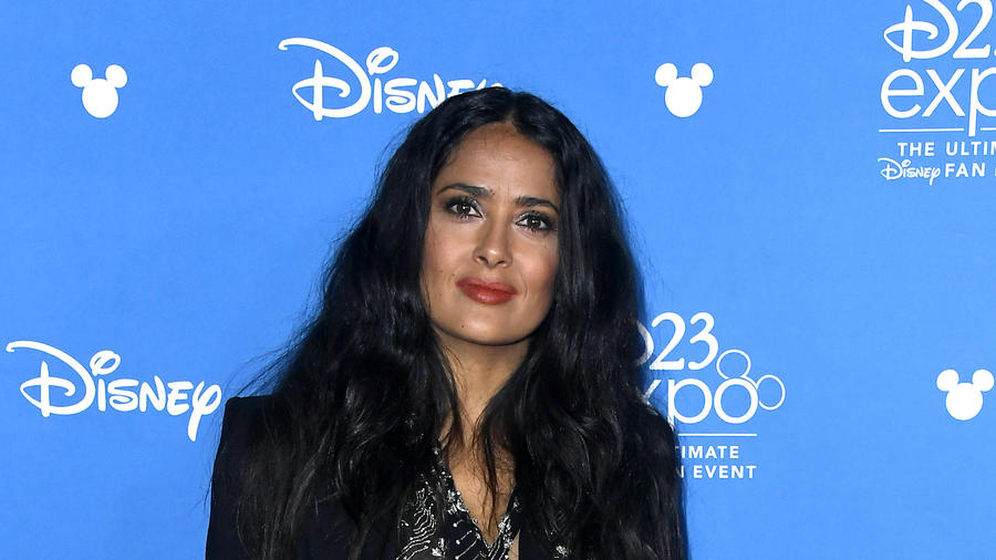 "Salma Hayek revealed news details about ""The Eternals"" at the D23 Expo"