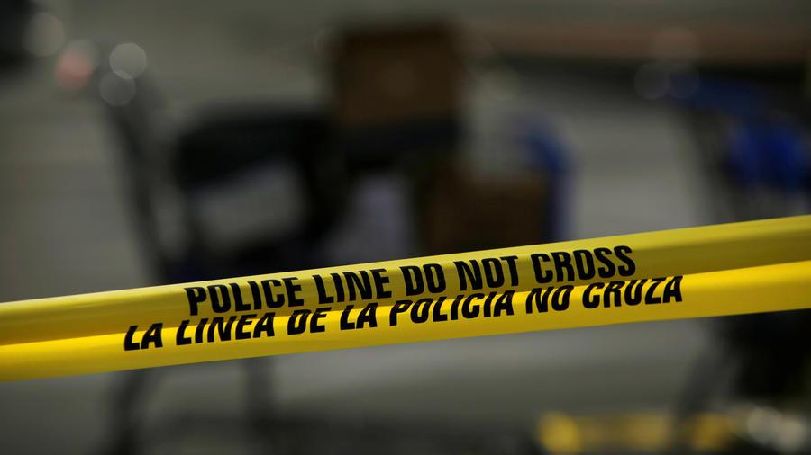 Zona acordonada por la policía de Texas en una imagen de archivo