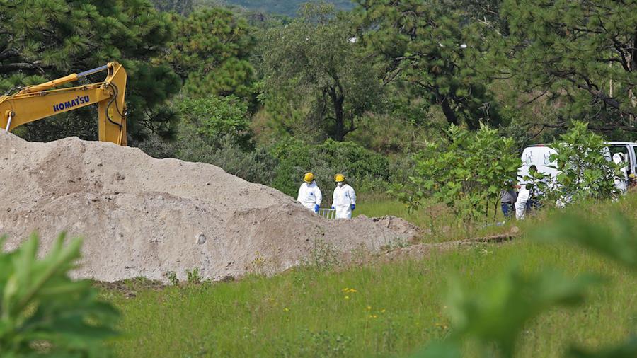 La fosa se encuentra en la colonia La Primavera, en Zapopan.