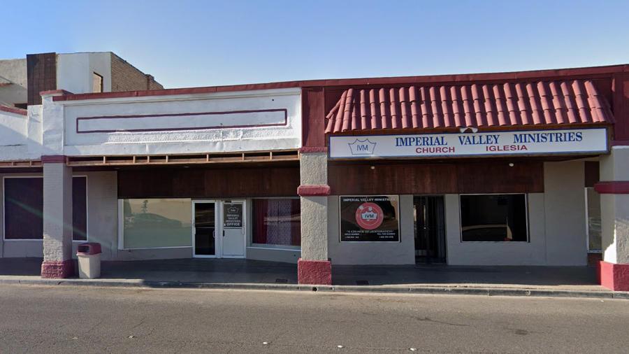 Local de Imperial Valley Ministries en El Centro (California).
