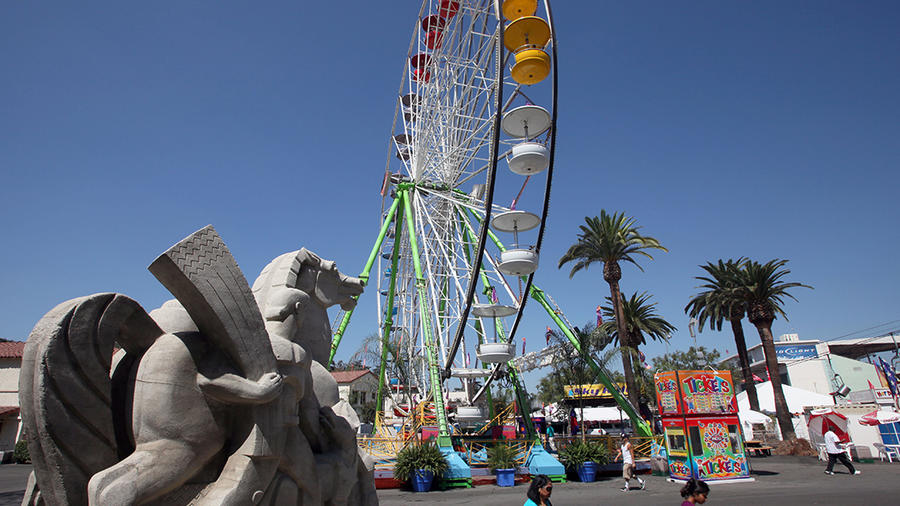 Imagen de archivo de Los Angeles County Fair, en la ciudad de Pomona, California.