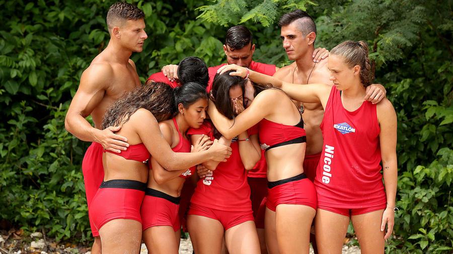 Olimpia Villalobos llora con los Famosos