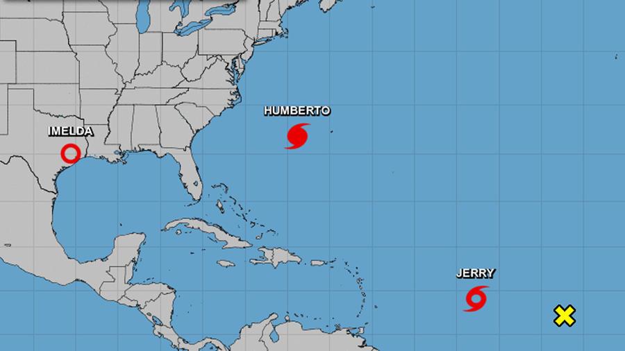 Tormentas en la cuenca del Atlántico