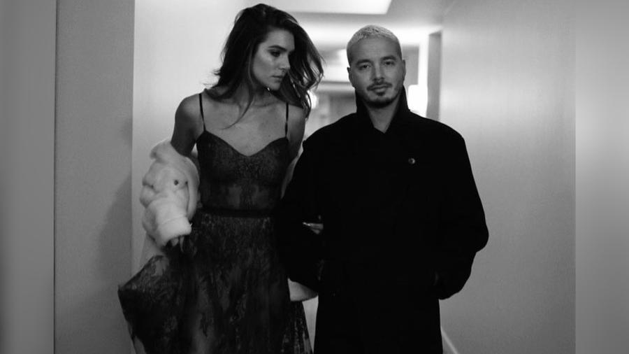 J Balvin y Valentina Ferrer