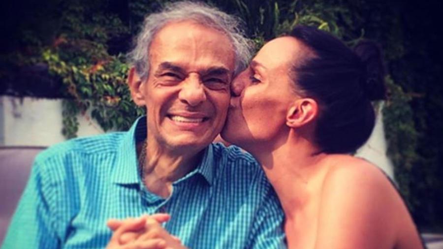 Marysol Sosa con su papá José José