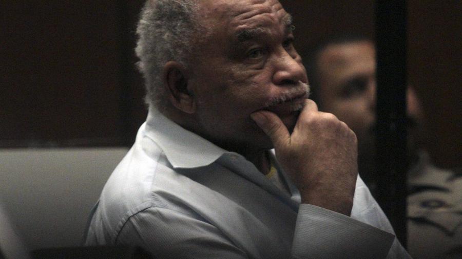 Fotografía de archivo de Samuel Little, asesino serial confeso, en una corte de Los Ángeles