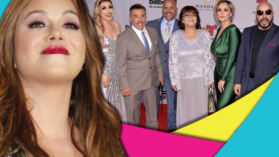 Chiquis Rivera y familia Rivera 2