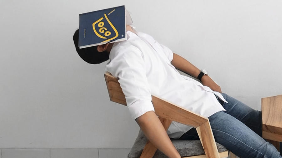 Alumno dormido
