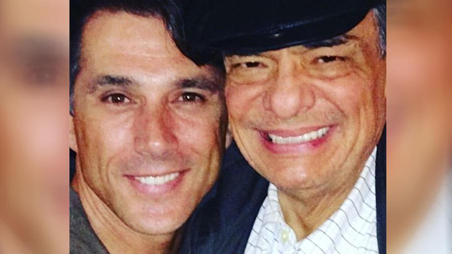 Sergio Mayer con José José
