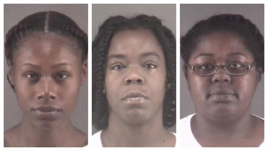 Tonacia Yvonne Tyson, Marilyn Latish McKey y Taneshia Deshawn Jordan