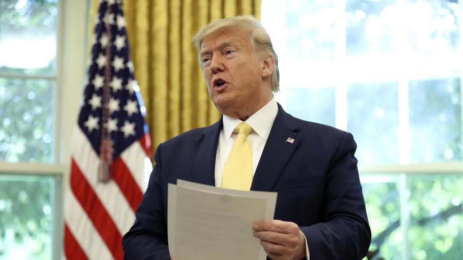 Donald Trump,Liu He