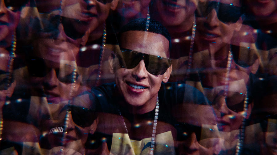 Daddy Yankee during the 2019 Latin AMAs rehearsals.
