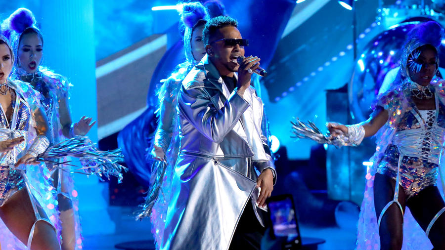 Ozuna en los Latin American Music Awards 2019