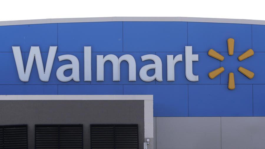 Logotipo de una tienda Walmart