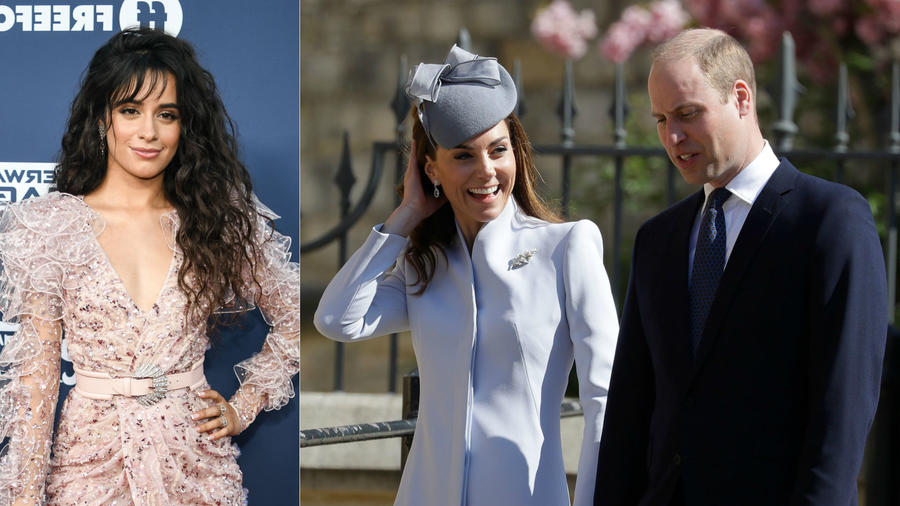 Camila Cabello; Kate Middleton y príncipe William