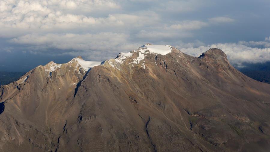 Volcán Iztaccíhuatl en pleno corazón de México en una imagen de archivo