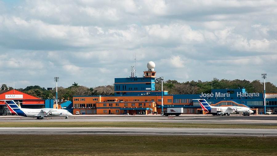 Jose Marti airport, Havana, Cuba