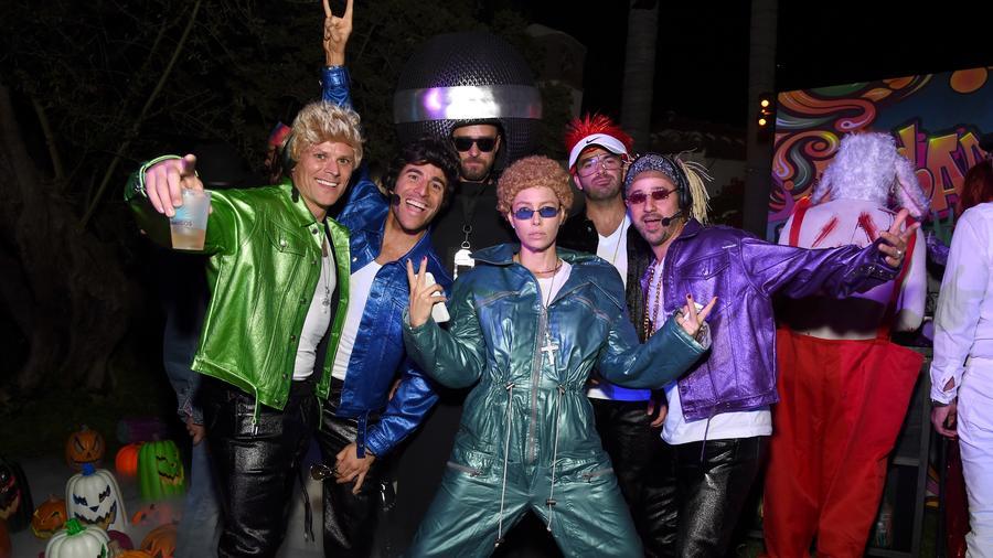 Jessica Biel and Justin Timberlake on Halloween