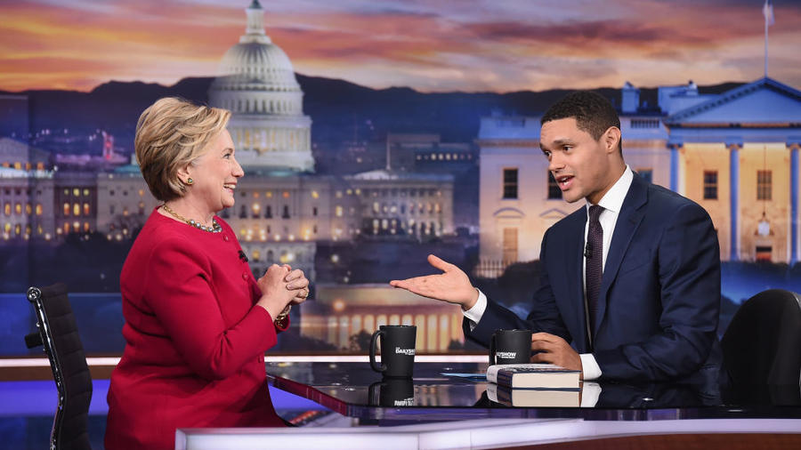 'The Daily Show With Trevor Noah' Welcomes Guest Hillary Clinton